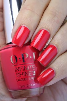 OPI Infinite Shine She Went On and On and On (1 coat)