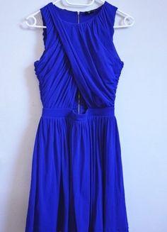 Kup mój przedmiot na #vintedpl http://www.vinted.pl/damska-odziez/sukienki-wieczorowe/16538916-chabrowa-sukienka-z-zamkiem-na-studniowke-wesele-randke