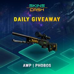 Hey,    Have you entered this competition to win StatTrak™ M4A4 | Evil Daimyo yet?    If you refer friends you get more chances to win :)    https://skins.cash/free-skins-giveaway