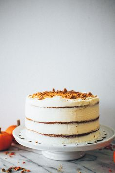 Sweet Tooth Girl | Pumpkin Pie Layer Cake