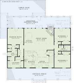 Nelson Design Group | House Plans|Design Services » Lake House Retreat PHOTOS THRU LINK