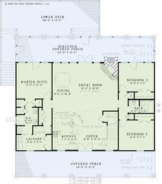 Nelson Design Group | House Plans|Design Services » Lake House Retreat  PHOTOS THRU LINK