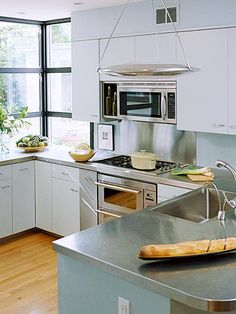 Choose The Right Countertop Material Types Of Countertopsstainless Steel
