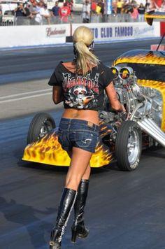 Drag Racing Back Up Girls   Re:
