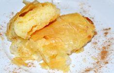 Γαλακτομπούρεκο σε ρολά (VIDEO) - cretangastronomy.gr Snack Recipes, Snacks, Chips, Dairy, Food, Snack Mix Recipes, Appetizer Recipes, Appetizers, Potato Chip