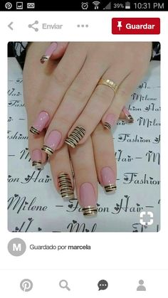 Wow Nails, Pink Nails, Eye Makeup Pictures, Sculpted Nails, Neutral Nails, Gorgeous Nails, Mani Pedi, Nail Art Designs, Lily