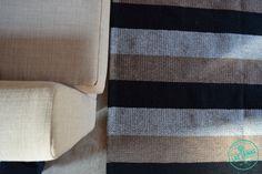 alfombra tejida en telar, http://laszainas.com.ar/