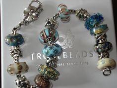 Bracelet with beautiful UU's. <3  #trollbeads