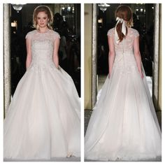 The Oleg Cassini Wedding Dress Collection Fall 2015 #classic #timeless #elegance #elegant