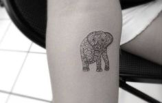 elephant tattoo designs (84)
