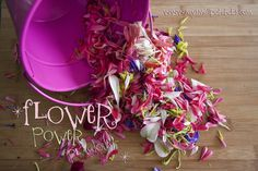 Flower Power Playdough...