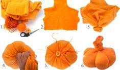 Has una calabaza con un genero de color naranjo para este Halloween