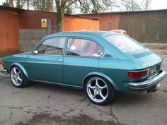 VW 412. My very first car....loved it!