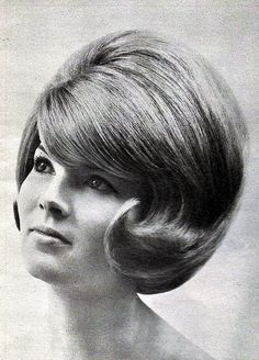 I would have loved my hair like this in the '60's , although I wore very similar styles !