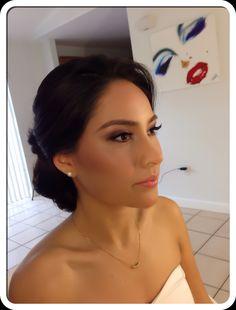 #bride #hair #hdmakeup #miami #makeupatlocation #beauty #updo #bestinmiami by http://www.gloriapelobrides.com
