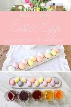 Have you ever tried to dye your Easter eggs with natural items you might already have in your pantry? If you're looking for a safe, easy, and fun way to dye eggs check out this guide to natural easter egg dye