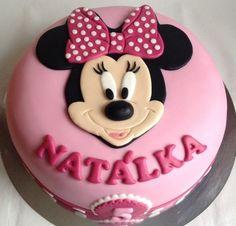 Dort s Minnie / Minie cake Elsa Birthday Cake, Minnie Mouse Birthday Cakes, Girl Birthday Themes, Mini Tortillas, Happy Birthday Amanda, Mini Mouse Cake, Bolo Minnie, Cheesecake Cupcakes, Frozen Cake