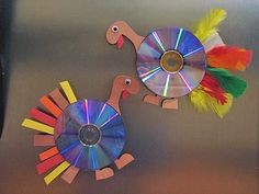old cd craft ideas | Idea Box: More New Thanksgiving Crafts