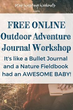 If a field notebook and a bullet journal had a baby it would be the Outdoor Adventure Journal! Draw Leaves, Outdoor Gear Review, Hiking Places, Nature Journal, Nature Study, Family Camping, Writing Prompts, Travel Style, Bujo
