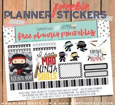 ninja planner stickers