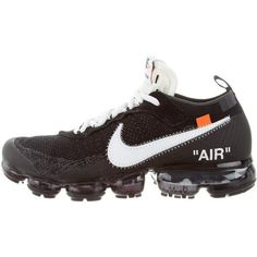 Pre-owned Off-White x Virgil Abloh x Nike The TEN: Air Vapormax... (€1.345) ❤ liked on Polyvore featuring mens fashion, mens shoes, mens sneakers, black, mens black tie, mens ties, nike flyknit mens shoes, mens black shoes and mens black sneakers Black Sneakers, Men's Sneakers, Black Shoes, Curvy Petite Fashion, Nike Flyknit, Africa Fashion, Milan Fashion Weeks, New York Fashion, Running Shoes Nike