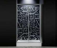 Personalização * Italbox Vidros foscados #italbox #waterprotect #duche #basesduche #foscagem #banho