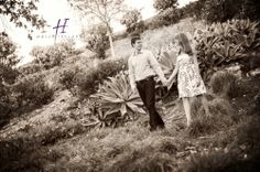black and white romatic engagement photography