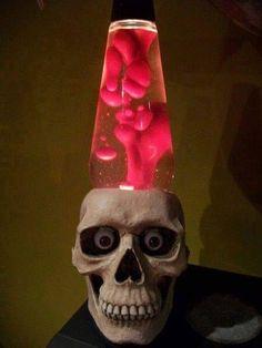 Custom Lava Lamp Light 1.75 Liter Crystal Head Vodka Skull ...