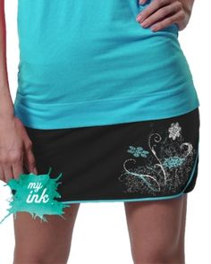 Ice-Cold Fusion Running Skirt