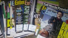 (59) Entertainment Weekly Magazine Back Issues Lot 2015 2016 2017 Celebrities +