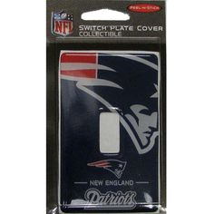 Patriots Wall Switch Face Plate