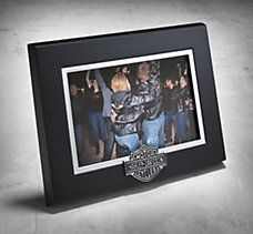 Bar & Shield Picture Frame