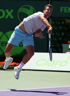 Tomas Berdych Photos: Miami Open Tennis - Day 12