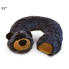 Puzzled Super Soft Plush Black Bear Neck Pillow (Product size: x x Cool Toys For Boys, Best Kids Toys, Toddler Christmas, Christmas Toys, Best Gifts For Tweens, Tween Girl Gifts, Neck Pillow Travel, Ride On Toys, Kids Pillows