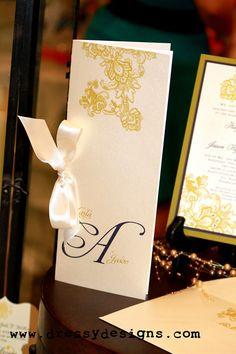 Wedding program - minimalistic and clean Wedding Invitation Inspiration, Custom Wedding Invitations, Wedding Stationary, Wedding Programs, Wedding Inspiration, Wedding Ideas, Fantasy Wedding, Dream Wedding, Wedding Things