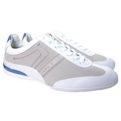 Hugo Boss Men's Hugo Boss Green Men's White And Blue Space Select Trainers - http://on-line-kaufen.de/hugo-boss/hugo-boss-mens-hugo-boss-green-mens-white-and-blue