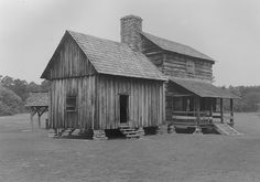 This log structure is an original Cherokee tavern that was built by James Vann, a wealthy Cherokee merchant and plantation owner. This and several other northwest Georgia taverns served travelers along the Federal Road, which was the main route through the area until the coming of the railroad in the early 1850s.  Photo Courtesy of Georgia Department of Natural Resources