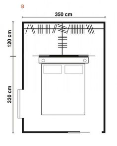 Modern Minimalist Walk-in Closet Innovative Design, Cabina Armadio by Porro - Bu . - Home and Garden Decoration Master Room, Master Closet, Closet Bedroom, Home Bedroom, Bedrooms, Bedroom Size, Master Bathroom, Wardrobe Behind Bed, Bedroom Layouts