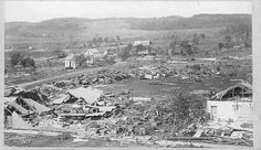 Aftermath of cyclone, Rochester. Rochester Minnesota, Tornados, Twin Cities, Paris Skyline, History, Traveling, Live, Viajes, Historia