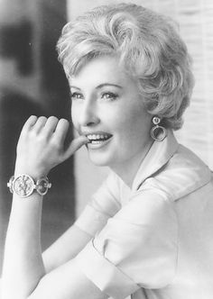 Barbara Stanwyck. Even more beautiful as she matured. A great actress!