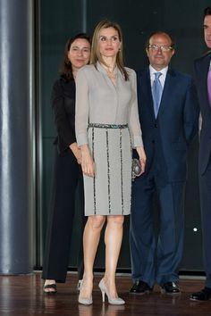 Queen Letizia of Spain Photos - Spanish Royals Attend An Audience for the National Armed Forces Day 2014 - Zimbio