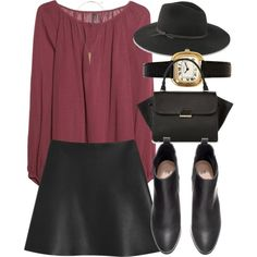 Untitled #3821 by laurenmboot on Polyvore featuring MANGO, Mulberry, H&M and rag & bone
