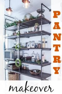 Open Pantry Organization from DIY Show Off ™ - DIY Decorating and Home Improvement Blog