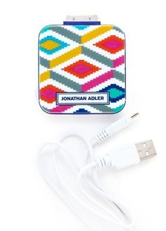 Jonathan Adler gets techy with a gorgeous USB charger