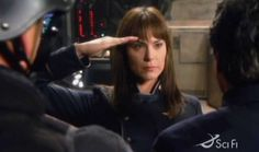 Hell yeah, #MichelleForbes. She'll always be #EnsignRo to me.