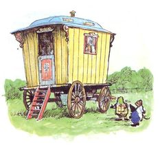 Illustration by Ernest Shepard for Kenneth Grahame's The Wind in the Willows.