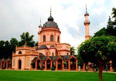 18TH CENTURY, Germany - Nicolas de Pigage (1723-1796):  Mosque in the garden at Schwetzingen, 1778-95, near Mannheim.