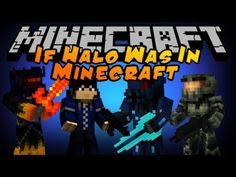 If Halo was in Minecraft... - YouTube