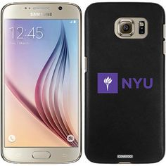 NYU Logo Side Design on Samsung Galaxy S6 Snap-on Case
