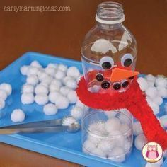 Having trouble thinking of new fillers for your sensory table? Here are a few winter sensory table ideas that your kids will LOVE. These sensory bin fillers will be perfect for your winter, snow, and snowman themed units in preschool, pre-k and kindergart Kids Crafts, Winter Crafts For Kids, Winter Fun, Winter Snow, Winter Ideas, Snow Preschool Crafts, Winter Crafts For Preschoolers, Winter Activities For Toddlers, Preschool Christmas Activities
